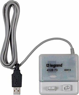 Legrand Adattatore PC e software accessori AlphaRex, 412873 (H5C)
