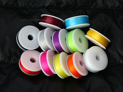 Fly tying thread 75 denier Available in 12 colors,320 Yd spools lures materials