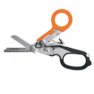 Leatherman Raptor Orange/Black Handle Medical Shears / Multi-Tool with Holster