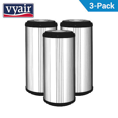 "3x 10"" JUMBO CARBON BLOCK FILTER 10M KOI POND FILTER"