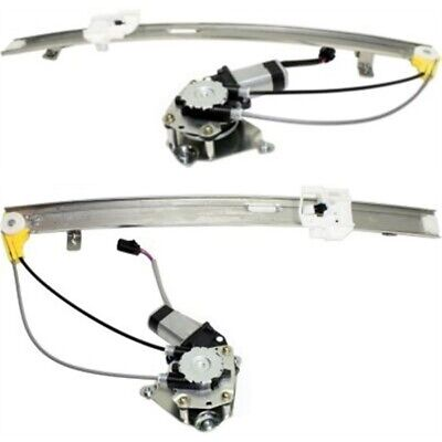 Power Window Regulator For 2006-2007 Jeep Liberty Set of 2 Rear With Motor