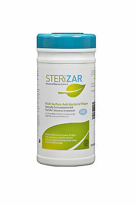Sterizar Hard Surface Wipes - 200 Wipes