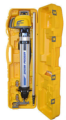 Spectra Precision LL300N-3 Self Leveling Laser Level Kit W/Metric Rod & HL450