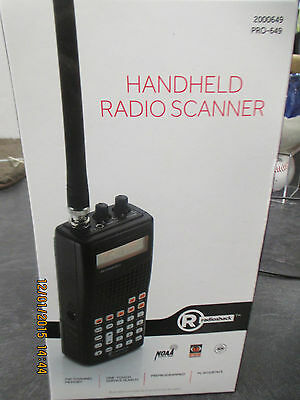 Radio Shack Pro 649 Manual