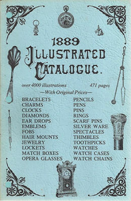 Antique Trade Catalog Watch Diamond Jewelry Gems Gold Silver Jeweler Rings