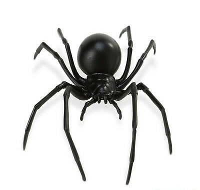 "BLACK WIDOW SPIDER Replica # 545406 ~ 7"" LONG ~ Free Ship/USA w/ $25+ SAFARI"