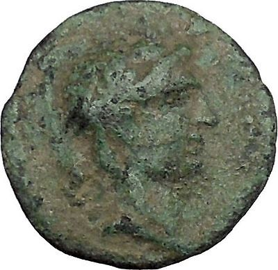 ANTIOCHOS IX Kyzikenos 108BC Seleukid Apollo Artemis Ancient Greek Coin i50473