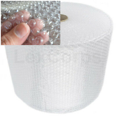"""BUBBLE + WRAP 175 Ft x 12"""" x 3/16"""" Small Bubbles Perforated Padding Moving Roll"""