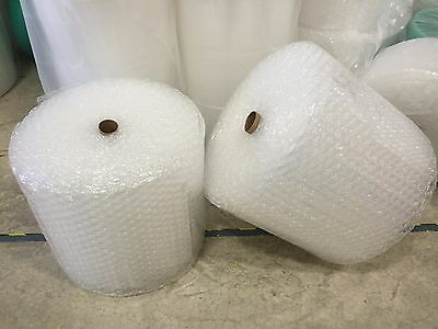 "ZV 1/2""x 12"" x 50' 50FT Large Clear Bubble Padding Cushioning Wrap Roll"
