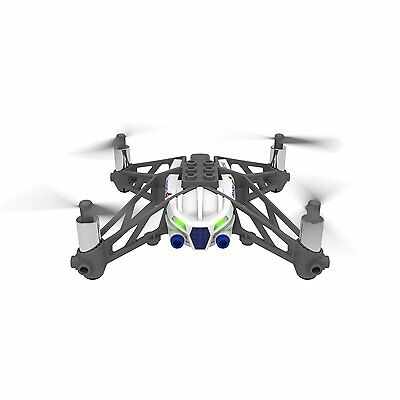 Parrot Mini Drone's Airborn Cargo Quad Copter Mars White from Japan
