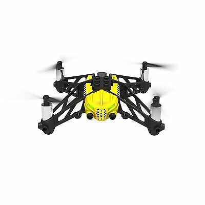 Parrot Mini Drone airborne cargo Quad Copter Travis yellow PF723330 from Japan