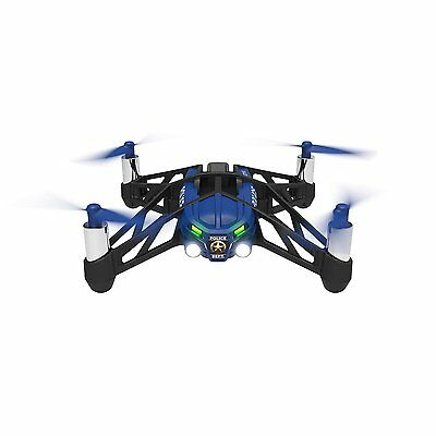 Parrot mini drone airborne night Network type Quad Copter Navy from Japan