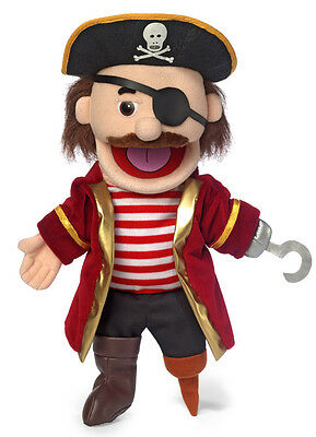 """14"""" Pro Puppets/Full Body Hand Puppet Pirate"""