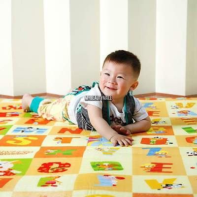 New Baby Eductaional Foam Floor Play Mat Child Activity Kid Toy Gift Gym Crawl