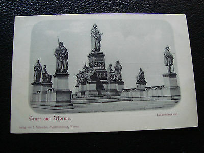 ALLEMAGNE - carte postale gruss aus worms (cy69) germany