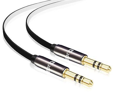 IBRA® 3.5mm Male To Male Stereo Audio Cable (1.5 Meter) - Flat Design
