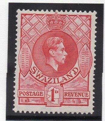 Swaziland 1938 Early Issue Fine Mint Hinged 1d. 033825