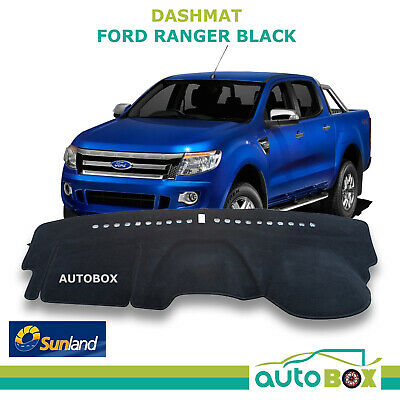 DashMat for Ford PX Ranger  Black Sunland Dash Mat Protection