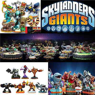 Skylanders Giants Figurine Au Choix Choice Collect Them All!