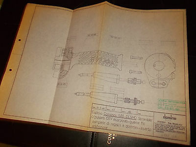 1985  Domino Throttle GILERA Scrambler _  BLUEPRINT