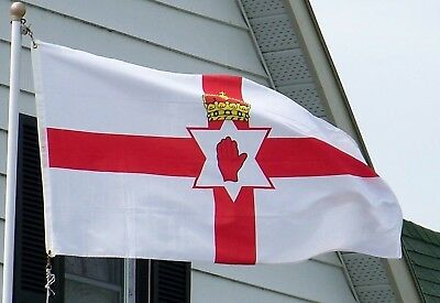 Giant Northern Ireland Ni Red Hand Of Ulster Flag