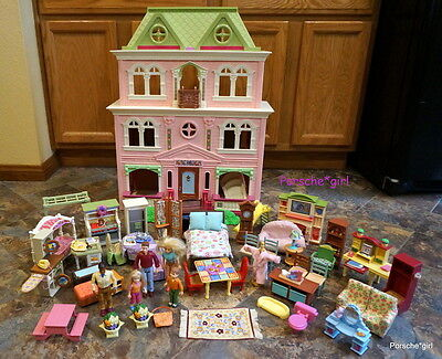 Fisher Price Doll House Loving Family Dollhouse With ...