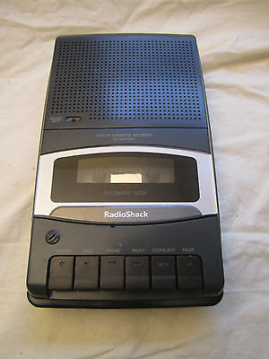 Radio Shack CTR-111 Portable Cassette Tape Recorder