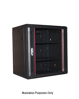 12RU Double Section Wall Mount Cabinet