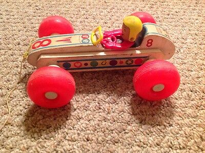 Bouncy Racer pull toy Fisher Price