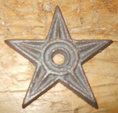 50 Cast Iron Stars Architectural Stress Washer Texas Lone Star Rustic Ranch