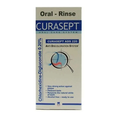 CURASEPT ADS 220  Mouthwash - 200ml - 0.20% Chlorhexidine Oral Rinse