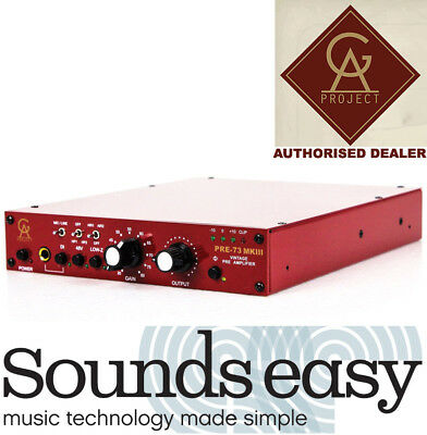 Golden Age Project Pre-73 MKIII Microphone Preamplifier MK3