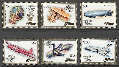 Niue 1983 Manned Flight MNH