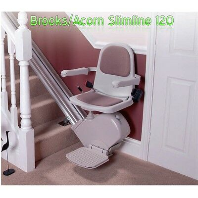 Brooks- Acorn Stair Lifts- Manual Hinge Track- 1 Year Warranty.. {700}..