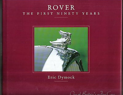 Rover The 1st 90 Years 1904-1994 Bicycle Motorcycle Car Range Rover BRM + Racing