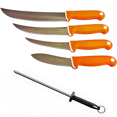 Mundihunt Series Knife Set by Mundial - Exclusive Butcher Knife Set - Soft-Grip