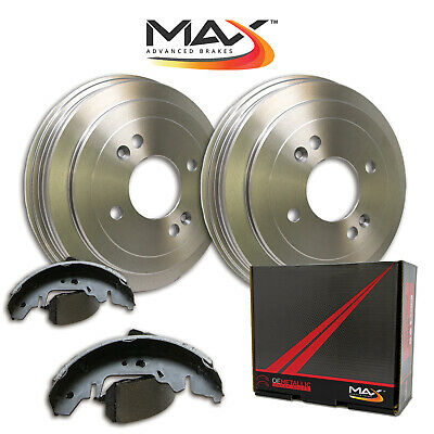 [REAR KIT] Premium OE Replacement Brake Drums AND Shoes