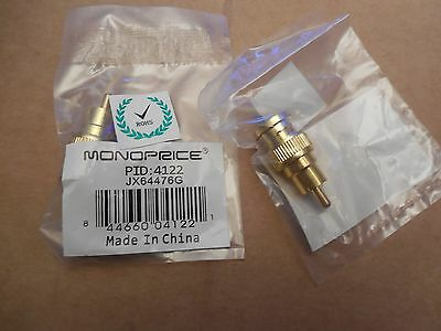 Monoprice Male to Male Adaptor 4122 Lot of 2 New