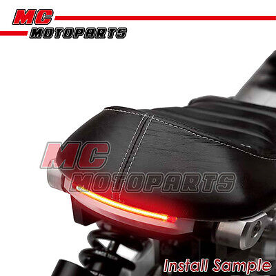 Red 21cm 3528 LED Tail Brake Light Tube For Hyosung Motorcycles
