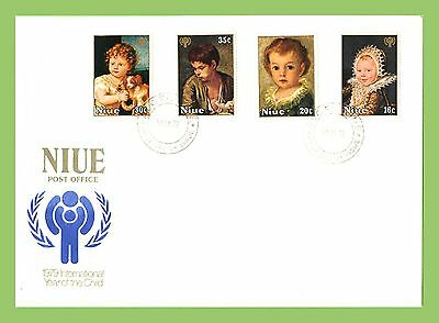 Niue 1979 International Year of the Child FDC