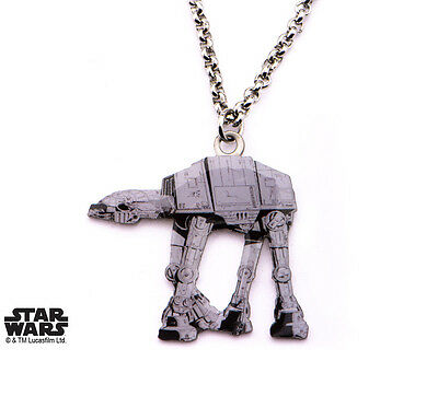 NEW Licensed Star Wars AT-AT Cut Out Pendant Necklace