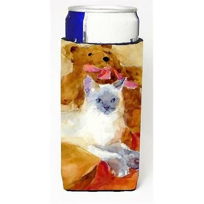 Carolines Treasures MM6014MUK Cat Michelob Ultra s For Slim Cans 12 oz.
