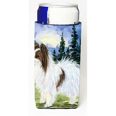 Carolines Treasures SS8975MUK Papillon Michelob Ultra s For Slim Cans 12 oz.