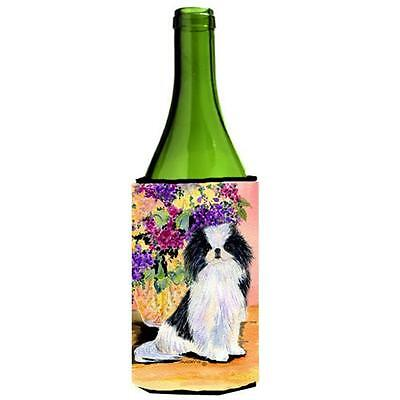 Carolines Treasures SS8299LITERK Japanese Chin Wine bottle sleeve Hugger 24 oz.