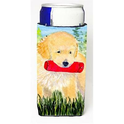 Carolines Treasures SS8858MUK Golden Retriever Michelob Ultra s for slim cans