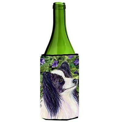 Carolines Treasures SS8896LITERK Papillon Wine Bottle Hugger 24 oz.