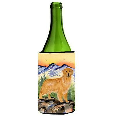 Carolines Treasures SS8163LITERK Golden Retriever Wine Bottle Hugger