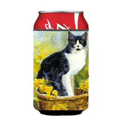 Carolines Treasures MM6038CC Cat Can or bottle sleeve Hugger