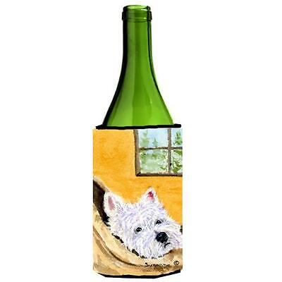 Carolines Treasures SS8785LITERK Westie Wine bottle sleeve Hugger 24 Oz.
