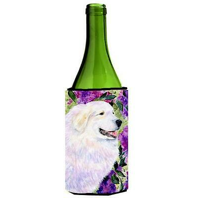 Carolines Treasures SS8474LITERK Great Pyrenees Wine bottle sleeve Hugger 24 oz.
